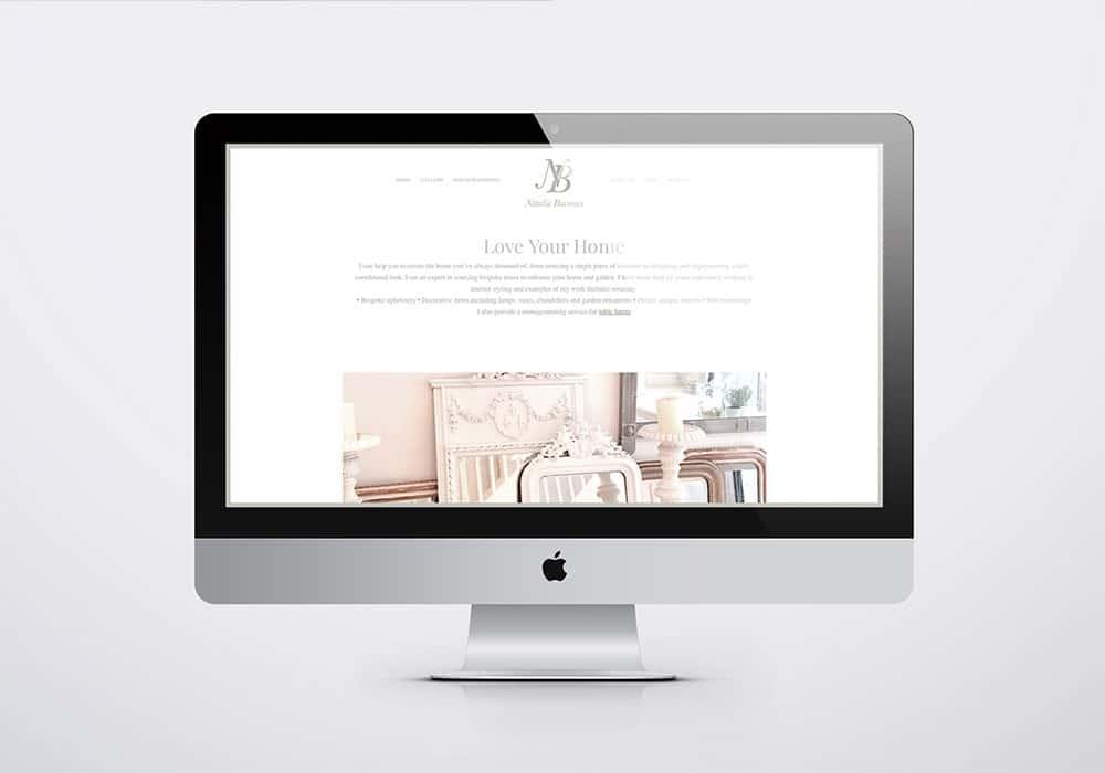 natalie burrows website design