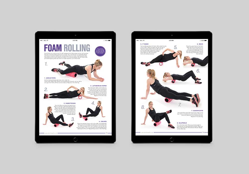 Dani Halsall Running Guide - Foam rolling