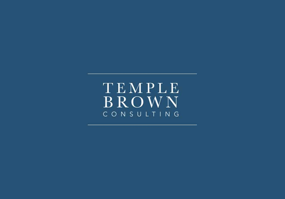 Brand identity Temple Brown - Logo