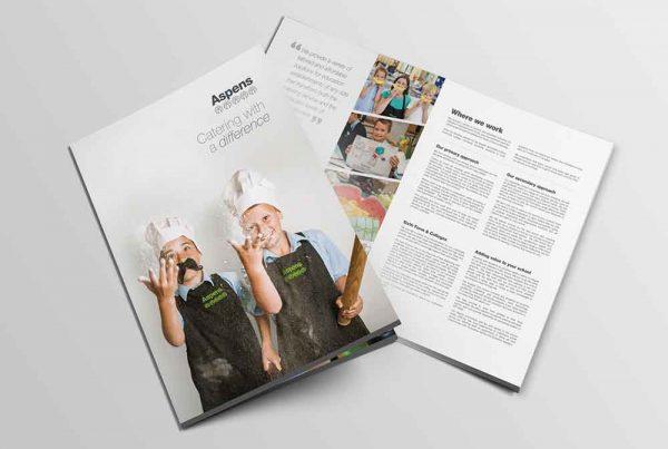 Aspens School Catering Folder Cover