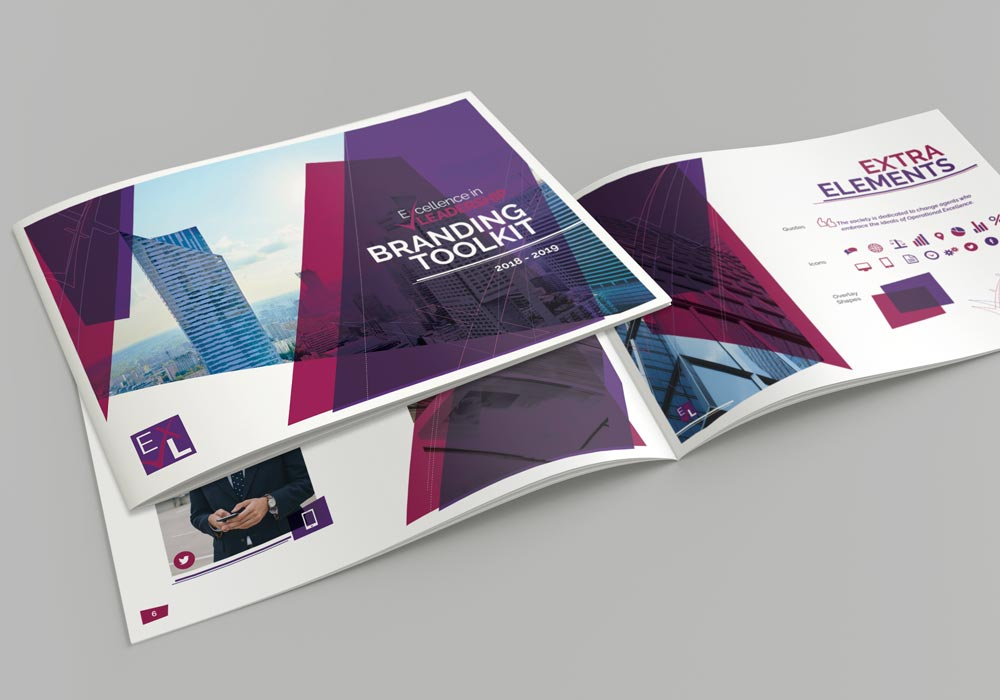 Excellence in Leadership Corporate branding cover