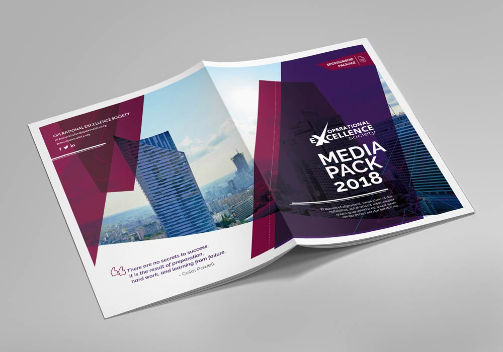 Excellence in Leadership Corporate brochure cover