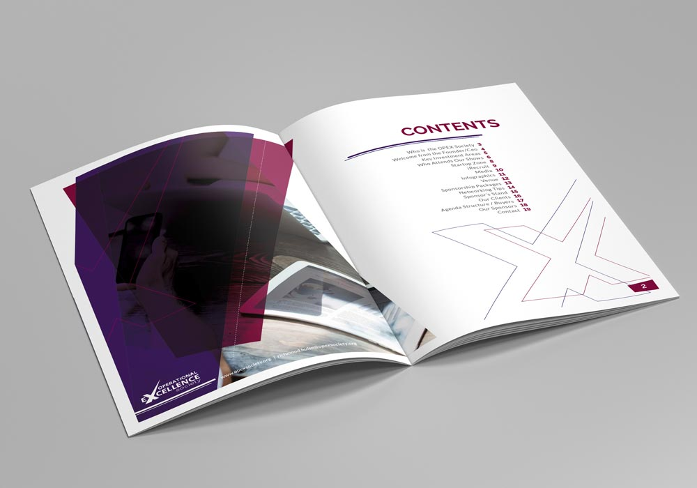 Excellence in Leadership Corporate contents page