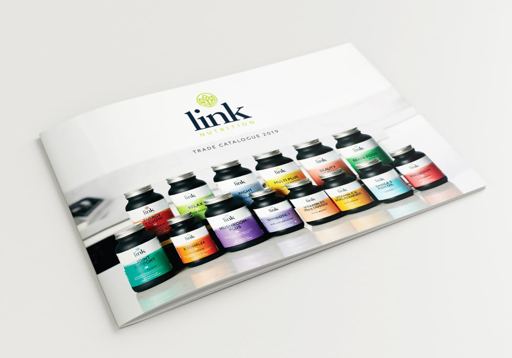 Link Nutrition trade catalogue