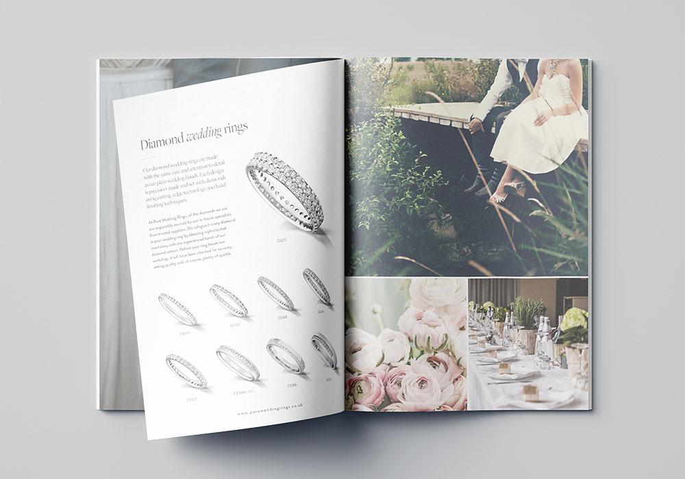 pure wedding brochure