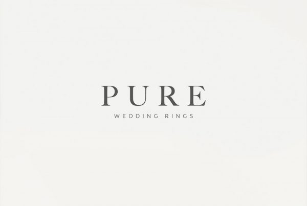 pure wedding rings logo