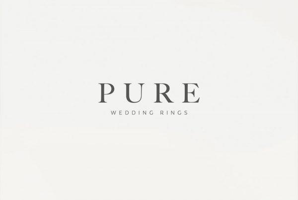 pure wedding rings logo